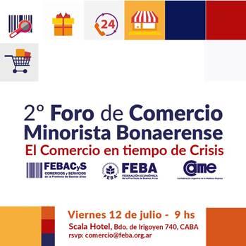 Participamos del 2° Foro de Comercio Minorista