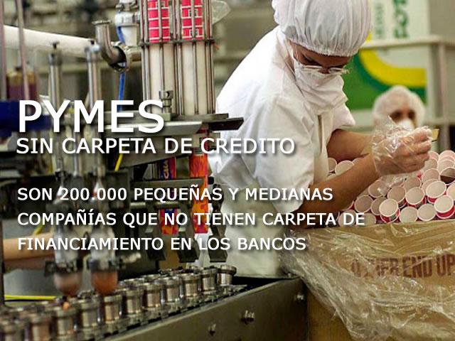Pymes sin carpeta de credito
