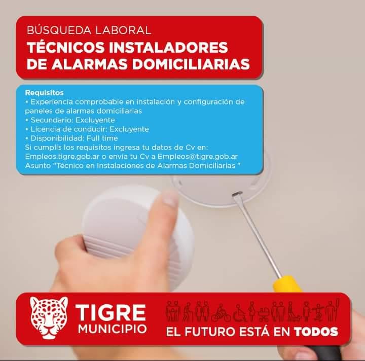 TECNICOS INSTALADORES DE ALARMAS DOMICILIARIAS